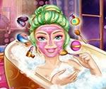 barbie güzellik banyosu