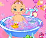 bebeği yıka