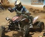 çölde ATV yarışı