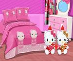 hello kitty yatak odasi tasarimi