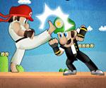 Mario Street Fighter